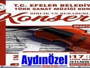 Efeler Belediyesi İlk Koro Konserini Verecek