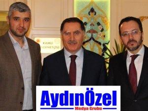 Rektör Cumhurbaşkanı Başdanışmanı Şeref Malkoç'u Ziyaret Etti