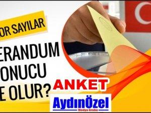 Anayasa Referandumu Anketimiz Başladı. EVET - HAYIR