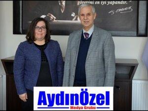 Başkan TOYRAN'dan Söke'nin Yeni Dekan'ına Ziyaret