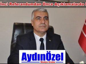 Bayram İNCİ : Tek Adam Rejimine Hayır Diyeceğiz
