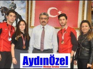 Milli Sporcu Gezgin Kardeşler Başkan Alıcık'dan Destek İstedi