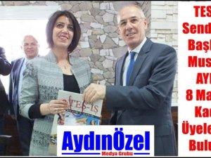 Mustafa AYDIN : 8 Mart Dünya Emekçiler Gününü Kutlarız