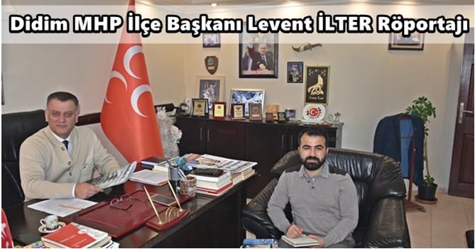 Levent İLTER : Büyükşehir Yasasından Memnun Değiliz +-