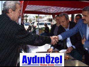 Nazilli Belediyesi Yazıcıoğlu  İçin Lokma Döktürüp Mevlit Okuttu