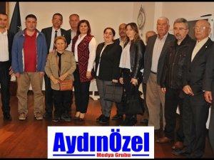 GERMENCİK CHP İLCE'DEN ÇERÇİOĞLU'NA ZİYARET