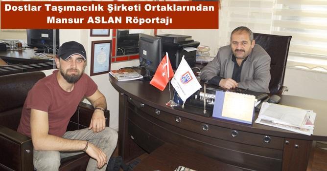 Mansur ASLAN : Derneğimizde Erzurumlu Olma Şartı Yok +