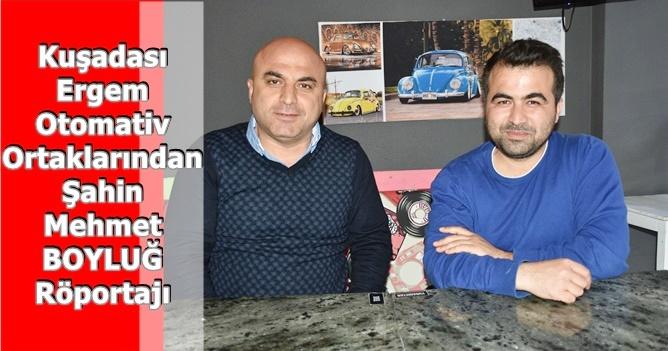Şahin Mehmet BOYLUĞ : Tavsiyem Kimse Kağıt Üzerinde Ev Almasın