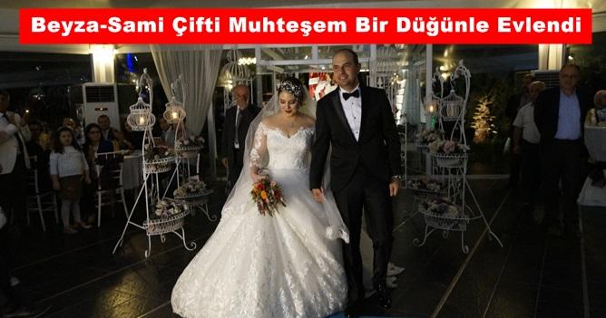 Beyza-Sami Çifti Muhteşem Bir Düğünle Evlendi