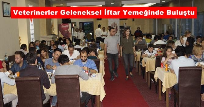 Veterinerler Geleneksel İftar Yemeğinde Buluştu