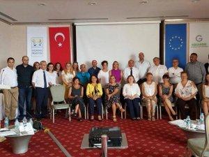 WASTEMANTECH PROJESİ FİNAL KONFERANSI KUŞADASI'NDA YAPILDI
