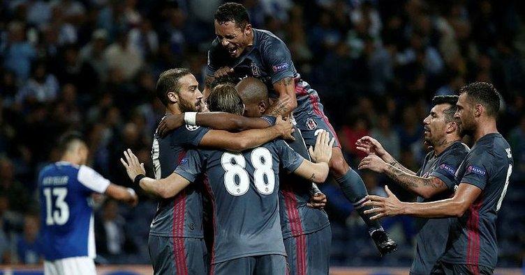 Beşiktaş'ın Hisseleri Borsada Güne Yükselişle Başladı  UEFA Şampiyonlar Ligi maçında Portekiz temsilcisi Porto'yu deplasmanda 3-1 yenen Beşiktaş'ın hisseleri güne yüzde 2,74 yükselişle başladı.