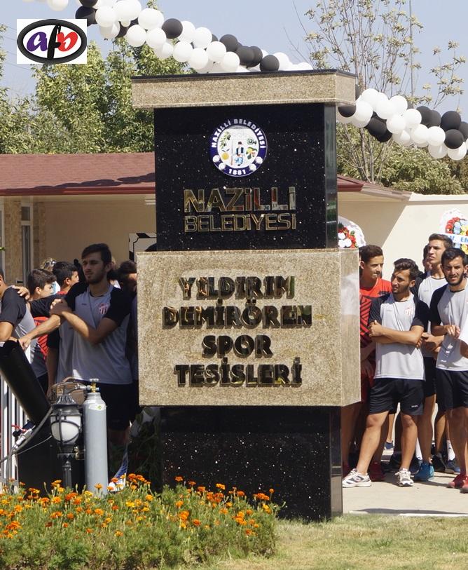 NAZİLLİ BELEDİYESPOR'A MUHTEŞEM TESİS