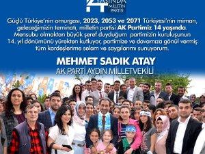 Mehmet Sadık ATAY 14 Yaşını Kutladı