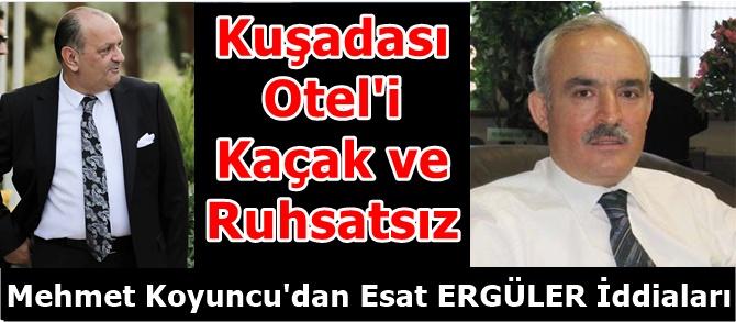Mehmet Koyuncu'dan Esat ERGÜLER İle İlgili Şok İddialar