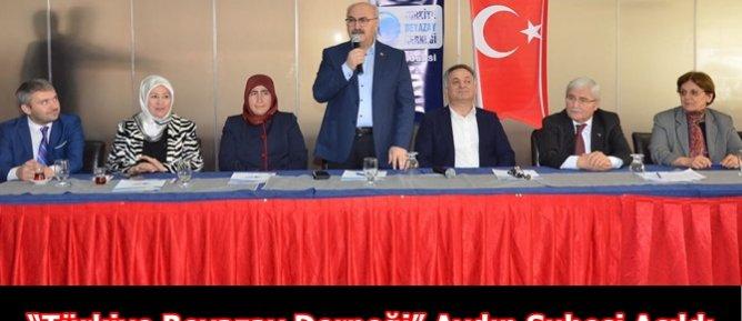 """""""Türkiye Beyazay Derneği"""" Aydın Şubesi Açıldı."""