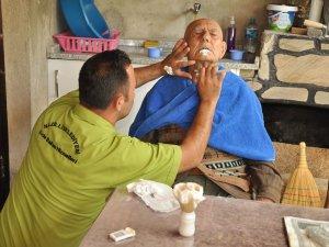 Nazilli'de Evde Bakım Hizmetleri Devam Ediyor