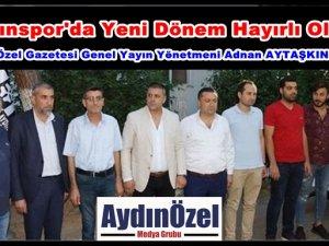 Aydınspor'da Yeni Dönem Hayırlı Olsun