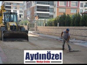 ADNAN MENDERES MAHALLESİ'NDEKİ HAM YOLLAR TOZDAN KURTULUYOR