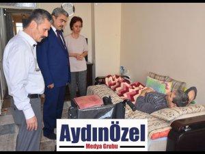 Başkan Alıcık Engelli Vatandaşların Yanında