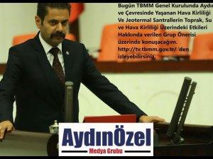 Mhp Aydın İl MHP İzmir Milletvekili Hasan Kalyoncu Jeotermal Konulu Meclis Konuşması
