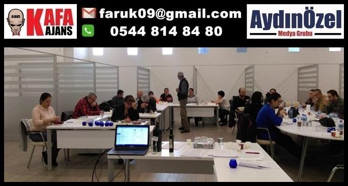 """Aydın Ticaret Borsası Tadım Panelistlerine """"Zeytinyağı Duyusal Analizinde Kusurlar"""" Eğitimi"""