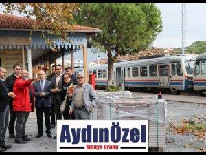 AK PARTİLİ YAVUZ ''SÖKE TREN GARI RESTORASYONU TÜM HIZIYLA DEVAM EDİYOR.''