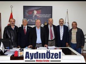 ÇANKIRILILAR DERNEĞİ'NDEN ÖZAKCAN'A DESTEK ZİYARETİ