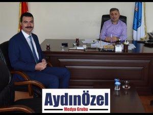 Didim Cumhuriyet Başsavcısı Çetin Yılmaz'dan Ticaret Odasına iade-i Ziyaret