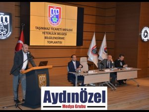 EMLAKÇILARA İLK BELGELENDİRME TÜRKİYE'DE AYTO'DA