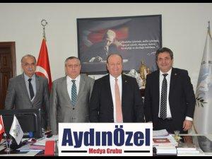 BAŞKAN ÖZAKCAN'A KONFEDERASYONDAN ZİYARET