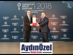 Vestel'e Sanayi ve Teknoloji Bakanlığı'ndan Verimlilik Ödülü