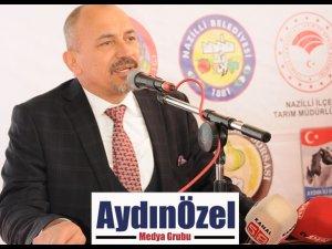 Nazilli'de 'Tarım Bayramı' Fuarla Taçlandı