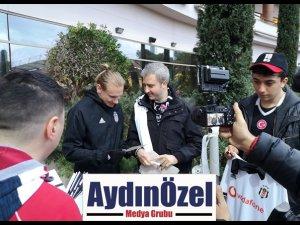 VODAFONE KARAKARTALLILAR, BEŞİKTAŞ'I ANTALYA KAMPINDA ZİYARET ETTİ