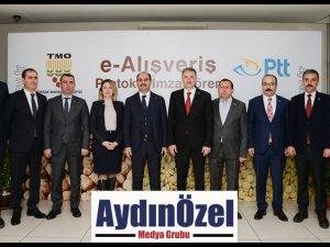 TMO Ürünleri PTT ile Tüketiciye Ulaşacak