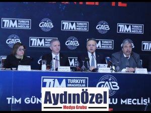TİM İHRACAT MEŞALESİNİ 'GÜNEYDOĞU ANADOLU MECLİSİ' İLE GAZİANTEP'TE YAKTI