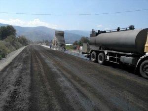 BŞB'den Bozdoğan'a Sıcak Asfalt Çalışmaları