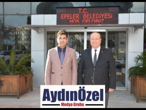 REKTÖR ALDEMİR'DEN BAŞKAN ÖZAKCAN'A İADEİ ZİYARET