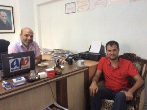 ADÜ Basın Müdürü DİNGİL'den AydınÖzel'e Ziyaret