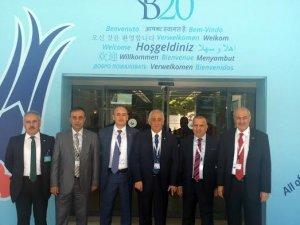 ÜLKEN, BUSİNESS 20 TOPLANTILARINA KATILDI
