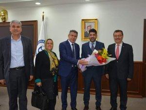 Köşk Belediye Başkanı ADÜ Rektörünü Ziyaret Etti