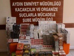 Aydında Kaçak Sigara - Çay Operasyonu