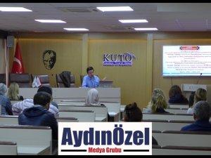 KUTO'DA KOSGEB DESTEKLERİ BİLGİLENDİRME TOPLANTISI YAPILDI