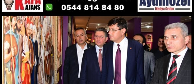Başkan Özcan; Nazilli Sanatla Nefes Alacak