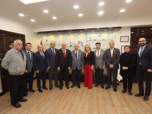 Egem Platformundan Başkan Fethi Yaşar'a Hayırlı Olsun Ziyareti