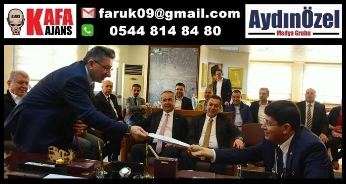 Nazilli Ticaret Odası'ndan Başkan Özcan'a Ziyaret
