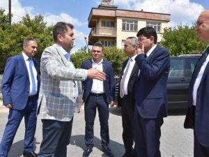 Başkan Özcan Dallıca'daki Yol Sorununu Çözdü
