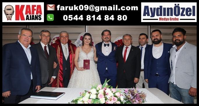 Başkan Fatih Atay, İlk Nikahını Kıydı
