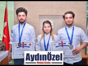 Didim MYO İstanbul'dan 4 Gümüş Madalyayla Döndü