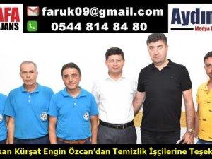 Başkan Özcan'dan Temizlik İşçilerine Teşekkür
